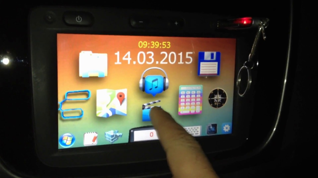 Renault media Nav Toolbox hack