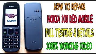 Nokia 100 ded problem solution 1000% working full details