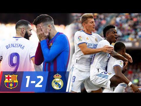 Barça 1 Real Madrid 2 - EL BARCELONA PIERDE OTRO CLASICO ANTE el REAL MADRID