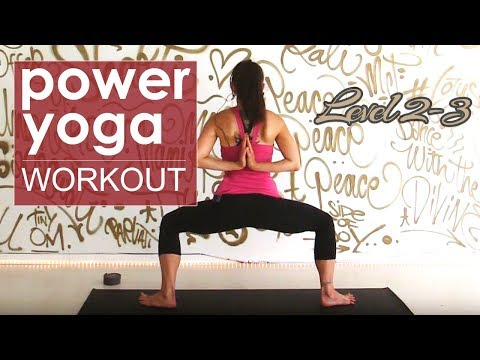 Heart Opening Power Yoga Class ~ Level 2/3