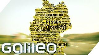 Fickmühlen, Busendorf & Co. - Woher kommen die skurrilen Ortsnamen? | Galileo