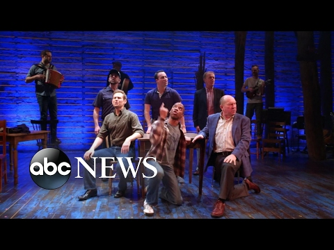 Canadian PM Justin Trudeau and Ivanka Trump attend 'Come From Away' Broadway musical