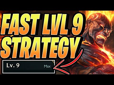 FAST LEVEL 9 STRATEGY - Teamfight Tactics TFT RANKED Best Comps Guide 9.24B lol SET 2