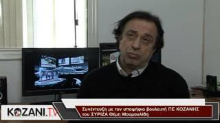 Συνέντευξη του υποψήφιου βουλευτή ΣΥΡΙΖΑ Θ. Μουμουλίδη