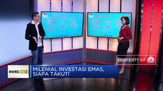 Ini Tips Investasi Emas Buat Kaum Milenial