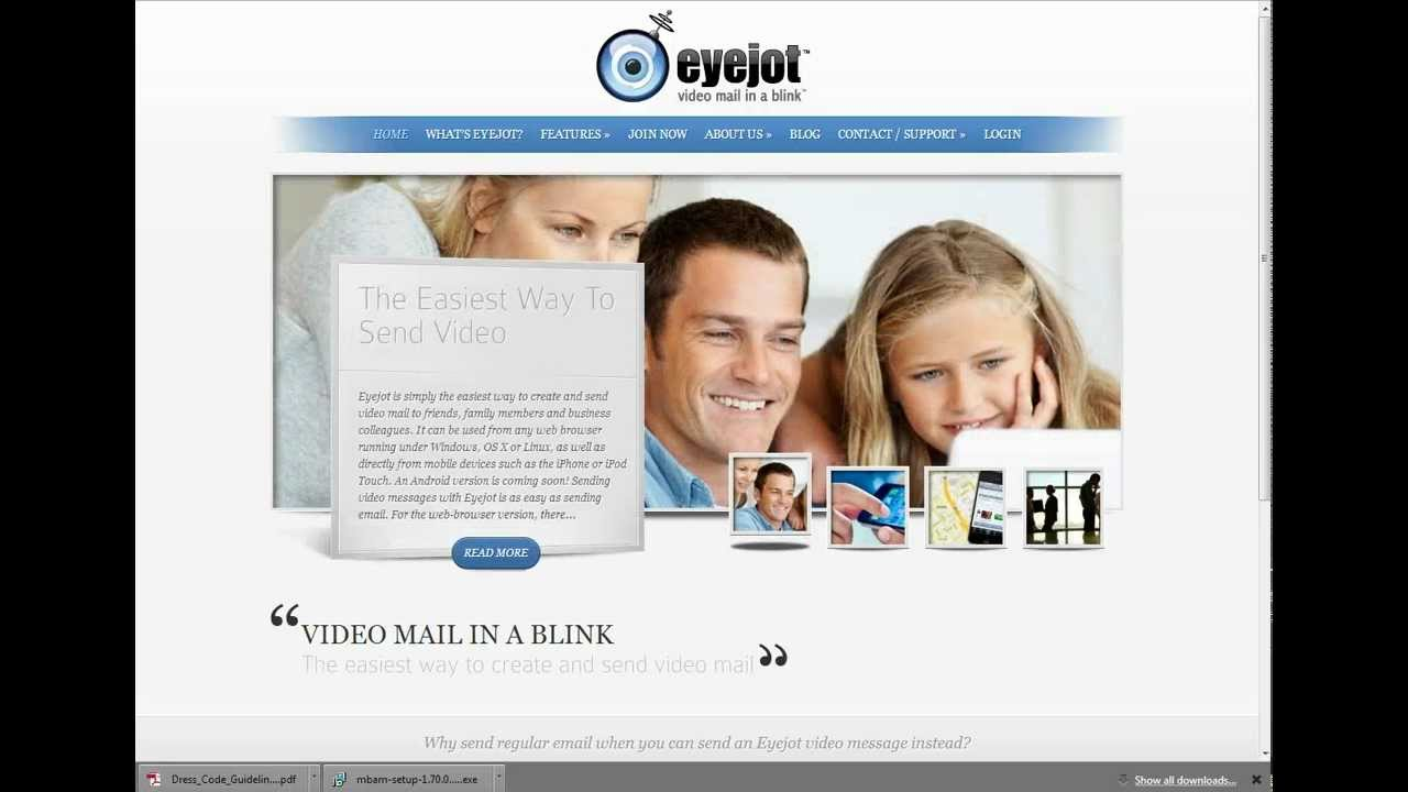How to send video mail in a blink using eyejot youtube how to send video mail in a blink using eyejot reheart Choice Image