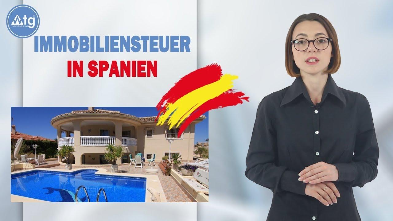 Immobiliensteuer in Spanien
