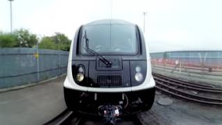 360° video: Elizabeth Line train runs on test track