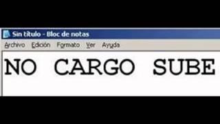 NO CARGO SUBE - 9no. Programa (07/04/15)