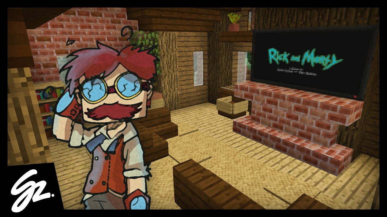 COZY LIVING ROOM! - Minecraft - #85 - YouTube