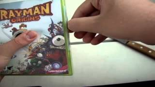 Unboxing Rayman Origins Xbox 360 PT-BR