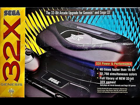 Sega 32X Commercial