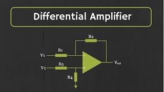 Operational Amplifier: Op-Amp as Differential Amplifier or Op-Amp as subtractor (With Examples)