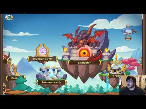 "Idle Heroes - ""New"" Fresh Account Series #1"