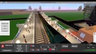 ROBLOX- Terminal Railways HST Treno Parte 1