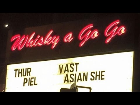 VAST Concert (Part 1) at the Whisky A Go Go in Hollywood on 9/1/2016