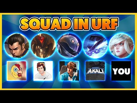 THE FUNNIEST URF VIDEO ON YOUTUBE (WE PLAY WITH YOU) - BunnyFuFuu
