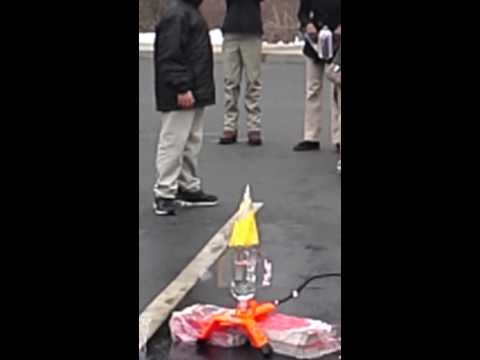 Laurus Academy rocket launch