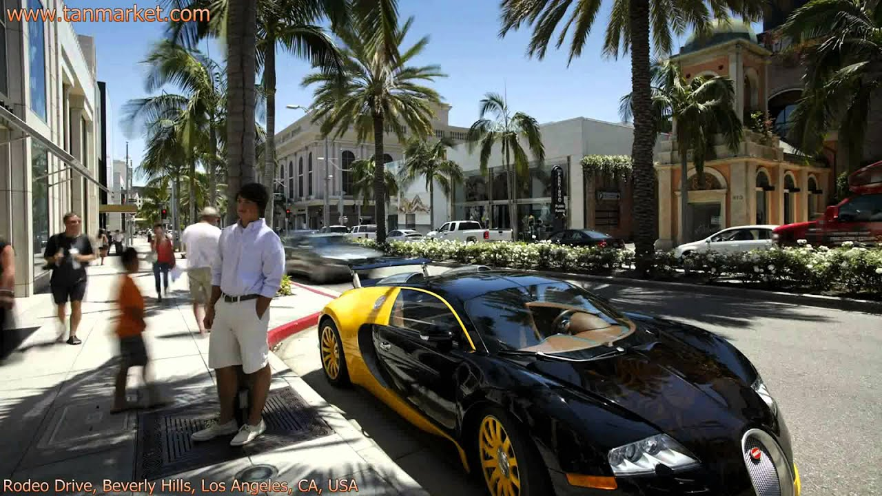 how to get to rodeo drive