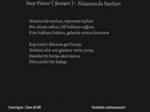 Sarp Palaur ( Şanışer ) - Nakaratlar Part.I