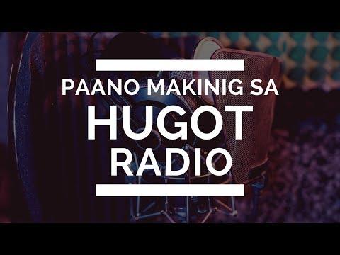 Paano Makinig sa Hugot Radio | Online Radio Philippines