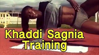 Khaddi Sagnia Amazing Training