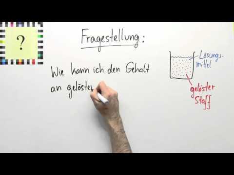 Gehaltsangaben in Lösungen | Chemie | Allgemeine und anorganische ...