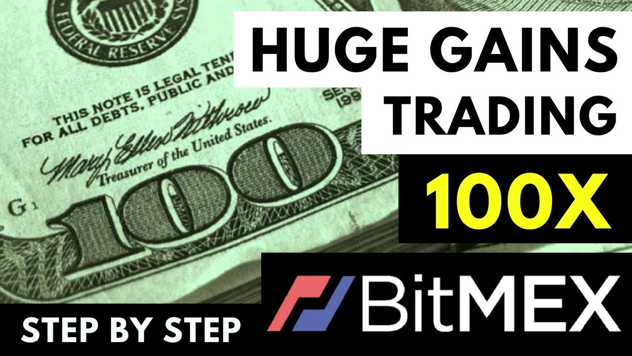 HOW TO MAKE HUGE GAINS ON BITMEX TRADING BITCOIN - UP TO 100x LEVERAGE! -  Trading Series #2