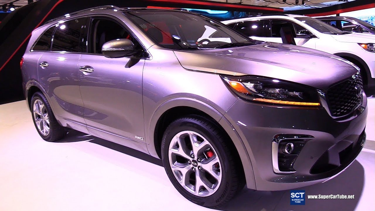 2019 KIA Sorento - Exterior and Interior Walkaround - 2019 New York Auto Show