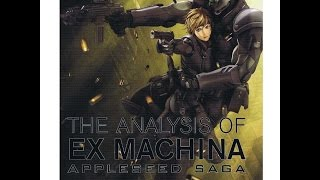 AppleSeed Exmachina artbook by Takamura Store