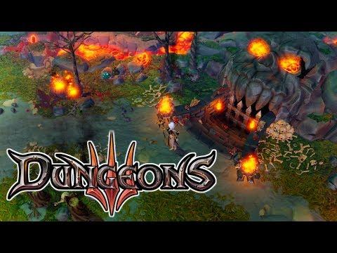 Gahenna Dungeon! – Dungeons 3 Gameplay – Let's Play Part 2