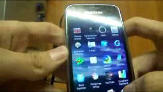 Samsung galaxy s i9000 с прошивкой android 2.3.3 + mod Poppuri
