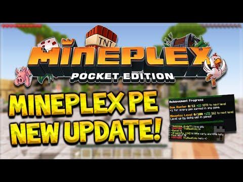 Minecraft pocket edition mineplex server | Servers coming to