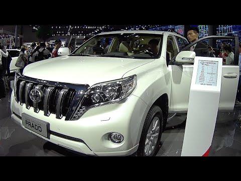 New Toyota Land Cruiser Prado 2016 2017 Video Review Interior You