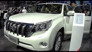 New Toyota Land Cruiser Prado 2016, 2017, video review, interior