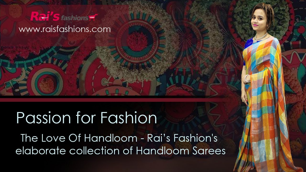 Rai's Fashions Elaborate Collection Of Handloom Sarees (11th August) - 7AT