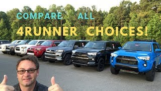 Compare ALL 2019 4Runner Trims: How to pick the right one!