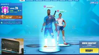 English Fortnite Live sub Games GIVE AWAY rules in Description