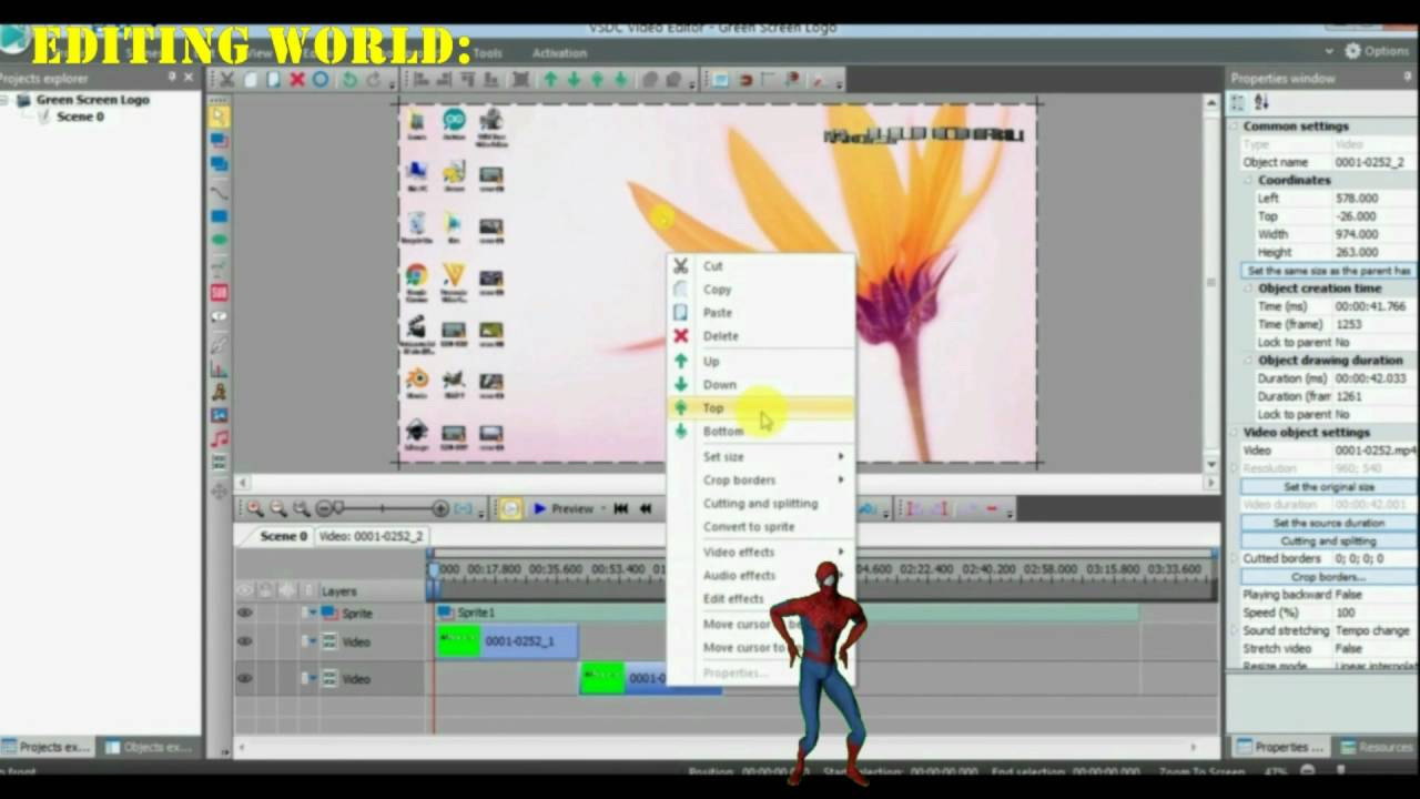 [HD]-How To Add Chroma Key Logo To Video In VSDC
