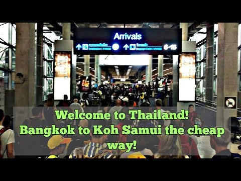 How to get from Bangkok to Koh Samui cheap? Prices & calculations included.