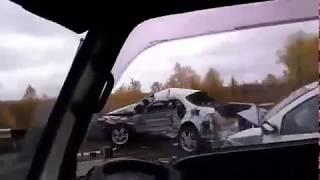ДТП Красноярск Путинский мост. марковник+ рено