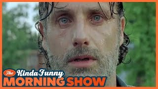 Andrew Lincoln is Leaving The Walking Dead? - The Kinda Funny Morning Show 05.30.18