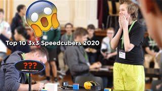 Top 10 3x3 Speedcubers 2020