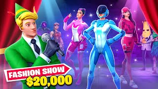 I Hosted A $20,000 Fortnite Fashion Show!