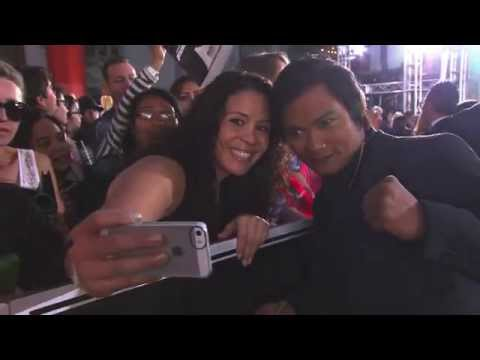 Tony Jaa Signs Autographs and Takes Pictures at the Furious 7 World Premiere
