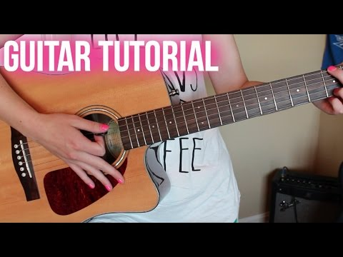 Girls Talk Boys 5 Seconds Of Summer Easy Guitar Tutorial Youtube