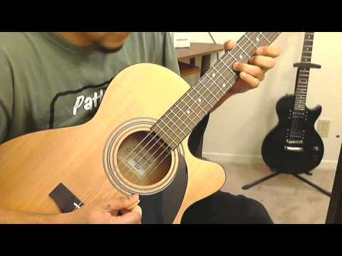 kal-ho-naa-ho-heartbeat-instrumental-guitar-youtube