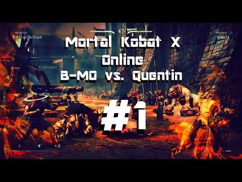 Mortal Kombat X Online B MO vs  Quentin #1