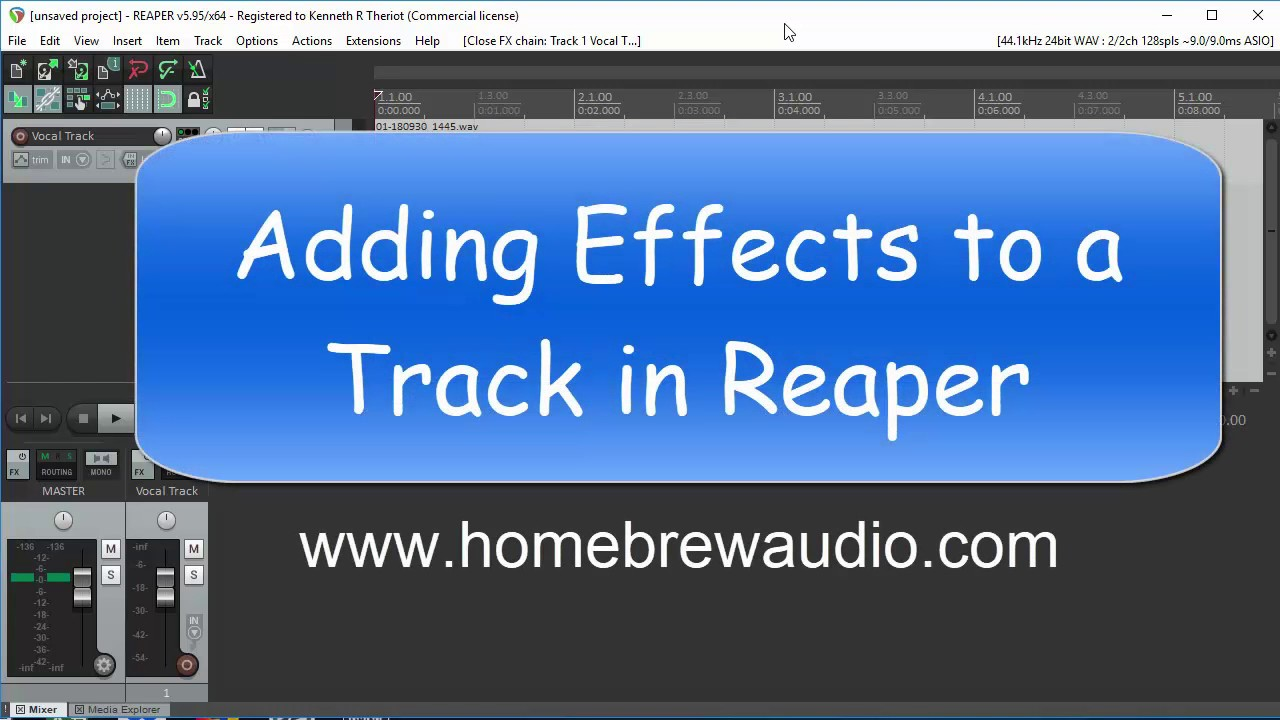Reaper Effects: How To Add Effects To Audio In Reaper