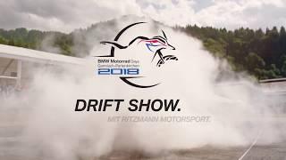 BMW Motorrad Days 2018 - BMW Driftshow with Ritzmann